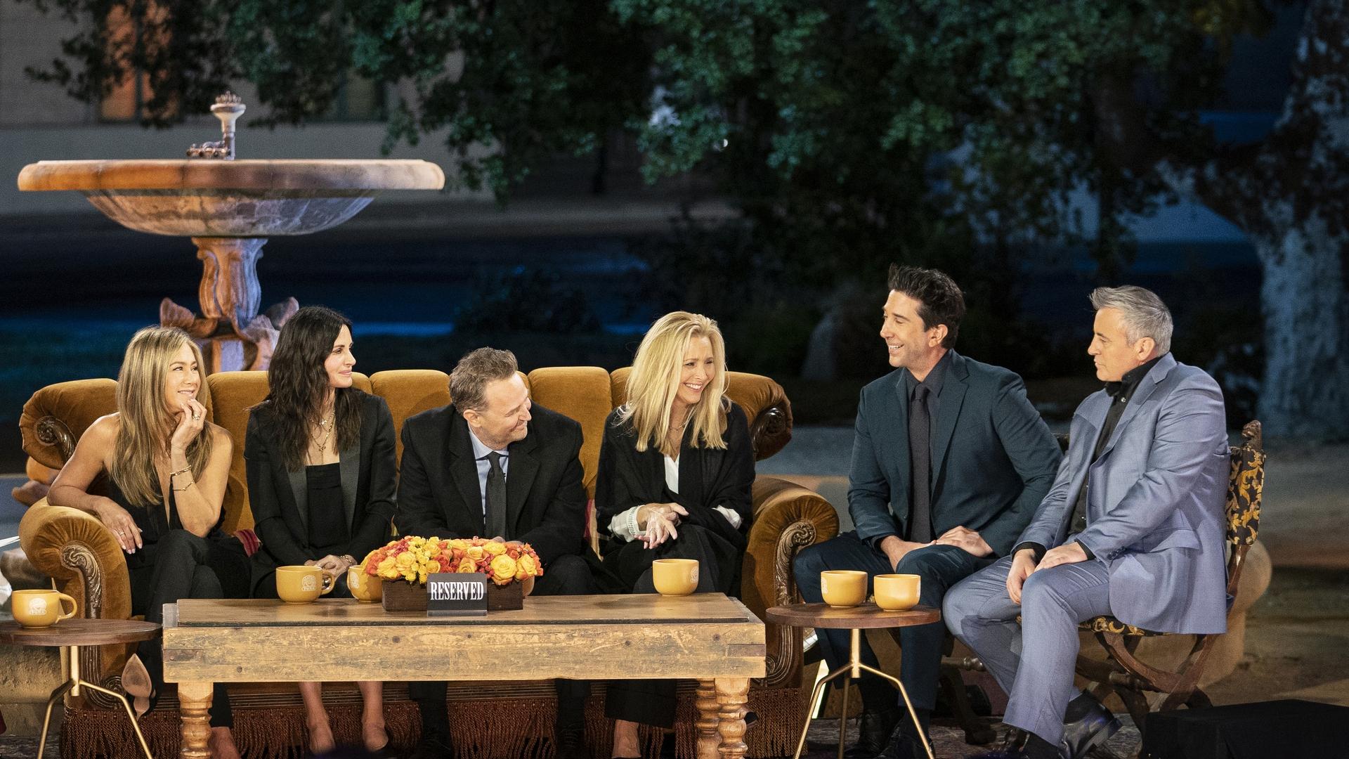 La reunión de Friends en HBO Max entre lo más visto del streaming