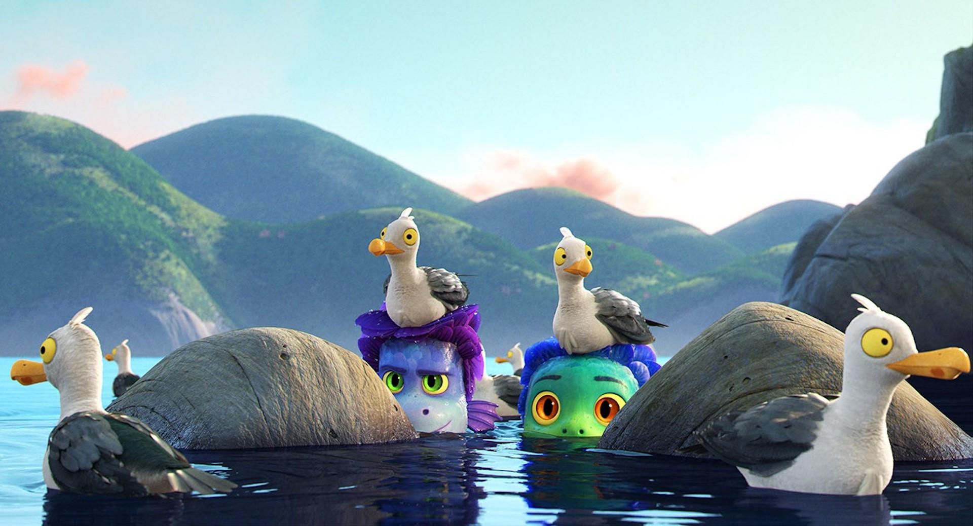 El 18 de junio estrena en Disney Plus, Luca, la nueva película de Pixar