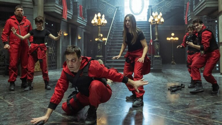 Netflix reveló las primeras imágenes de La Casa de Papel 5