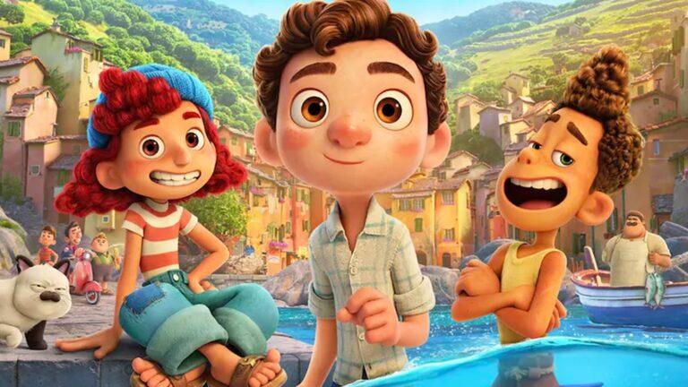 Una serie y un corto antes del estreno de la película Luca en Disney Plus