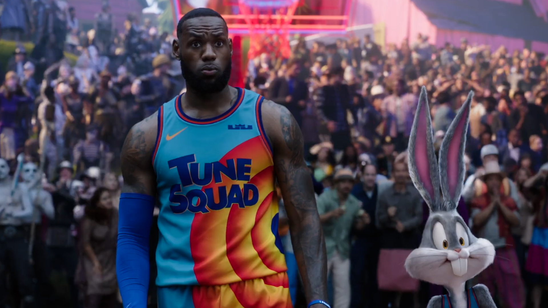 Este es el nuevo tráiler de la película Space Jam 2, con LeBron James