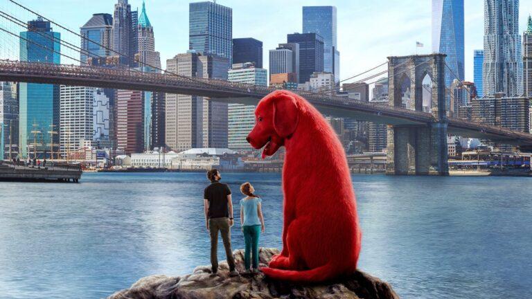 Paramount lanzó el tráiler de la película live action Clifford, el gran perro rojo