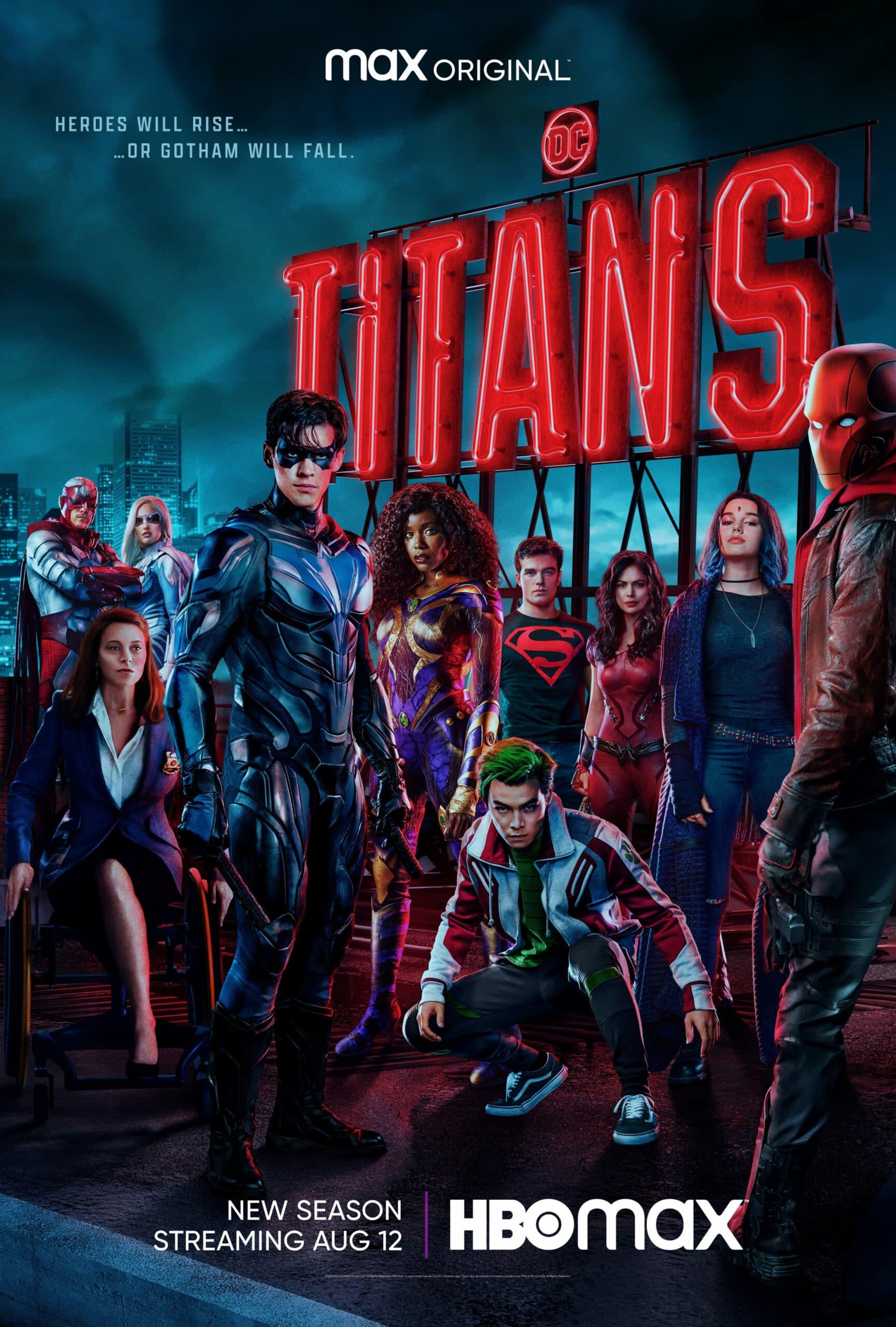 Titans: así es la temporada 3 de la serie en HBO Max ¿Cuándo estrena?