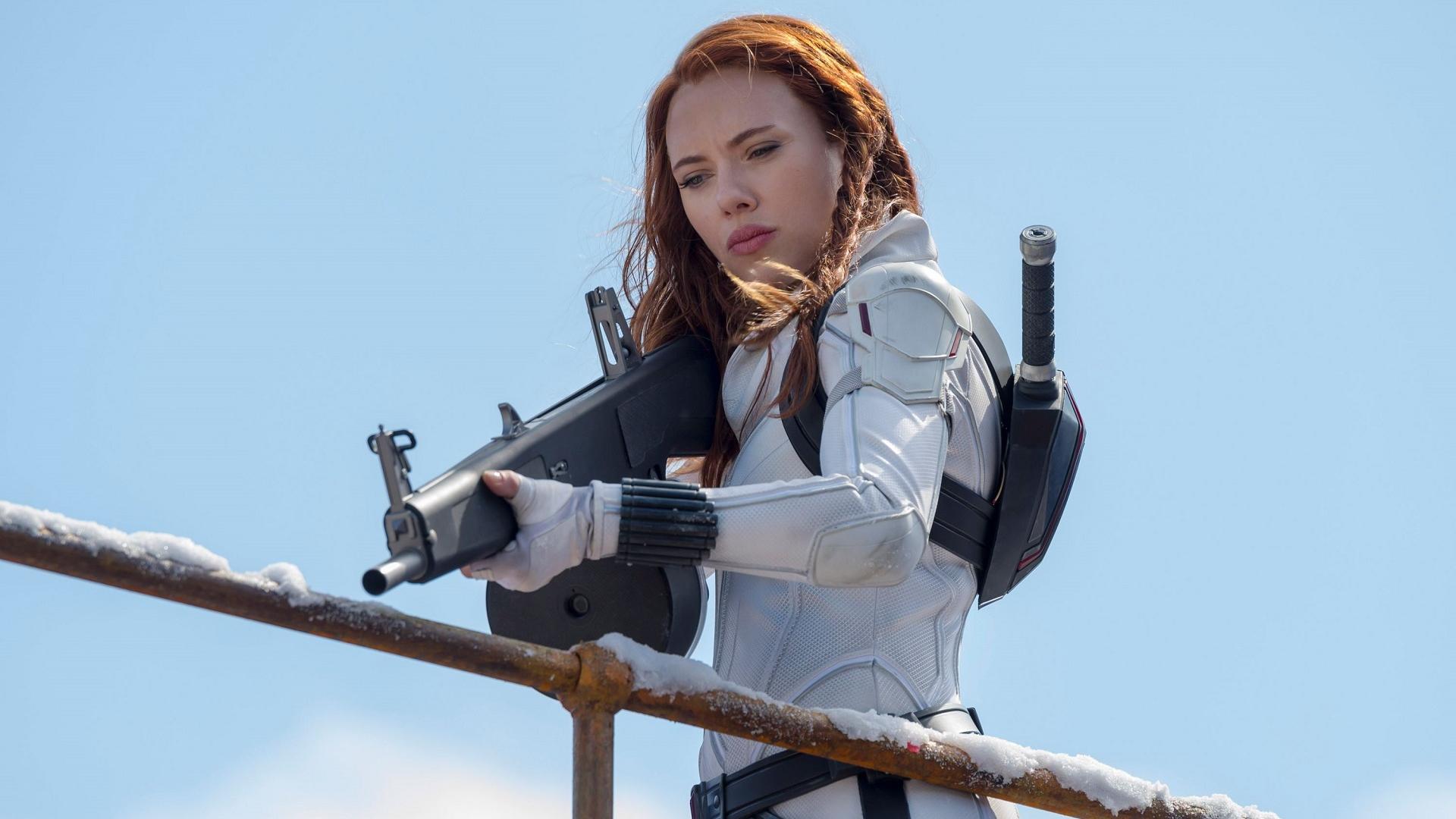Black Widow: récord de recaudación en cines y en Disney Plus