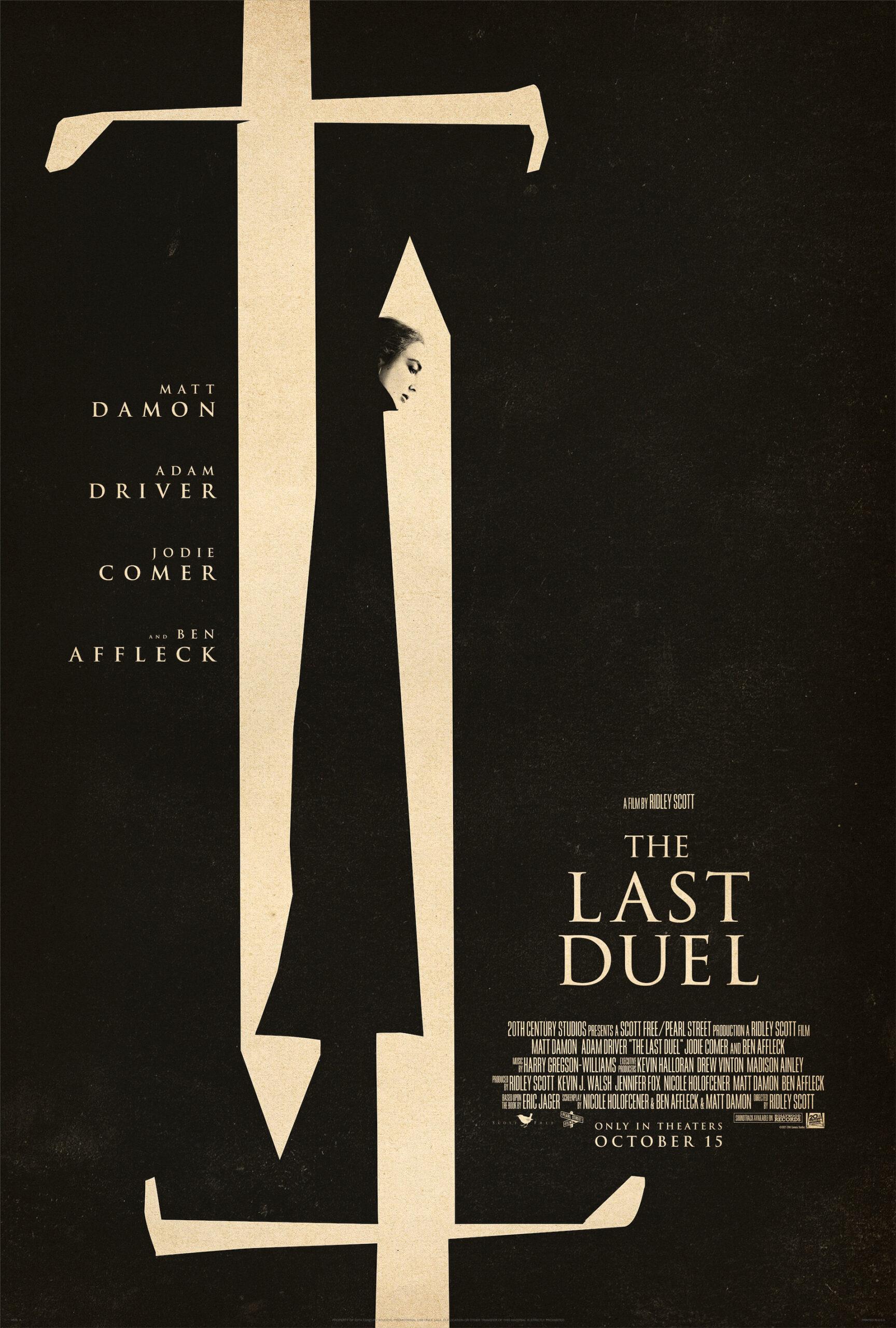 Esta es el trailer de El Último Duelo, con Matt Damon y Ben Affleck