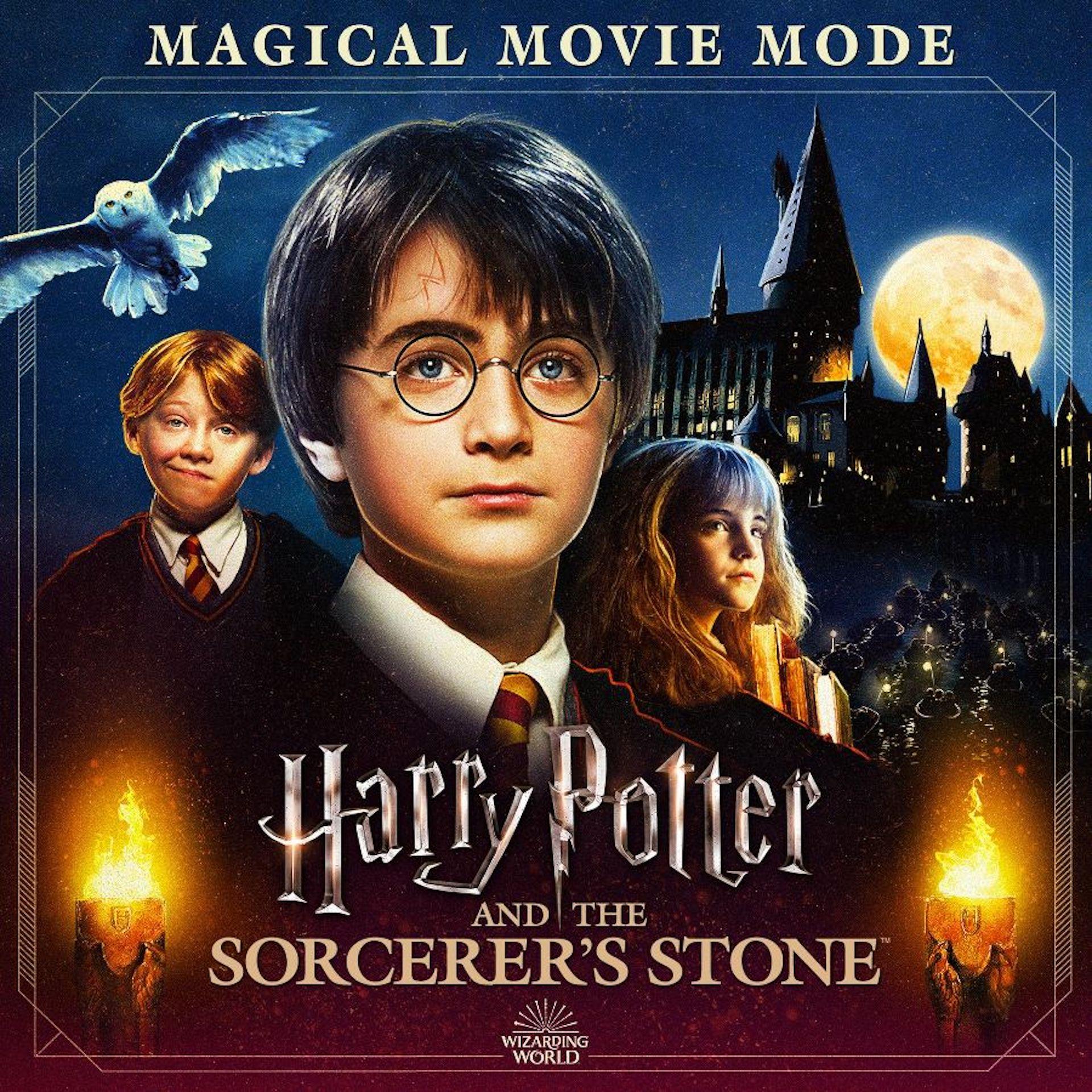 Llega la película Harry Potter y la Piedra Filosofal en formato digital y con extras