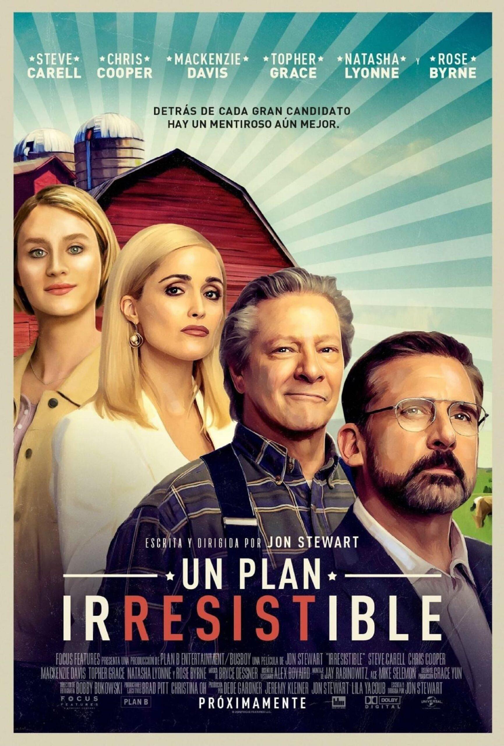 La película con Steve Carrell y Chris Cooper en HBO Max