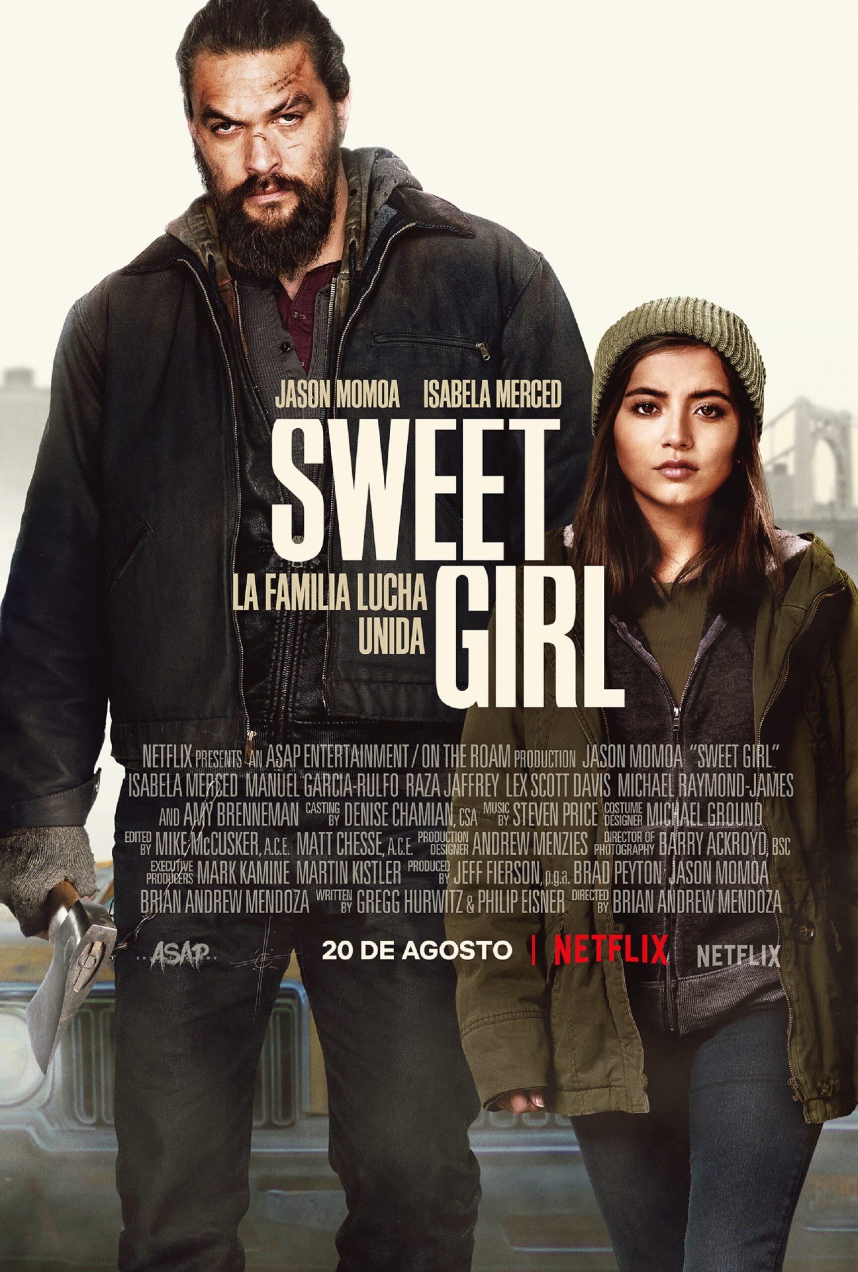 Jason Momoa busca justicia en el drama de acción Sweet Girl